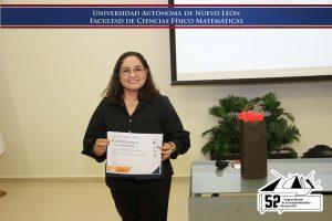 Imparte conferencia plenaria profesora-investigadora de la Facultad de Ciencias