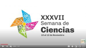 Agenda: Semana de Ciencias y Aniversario de la Facultad de Ciencias
