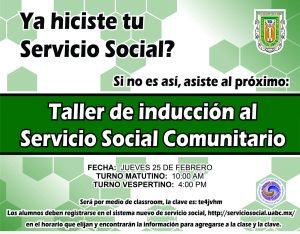 Taller de inducción al Servicio Social Comunitario