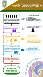 Proceso para registro y autorización de cursos intersemestrales