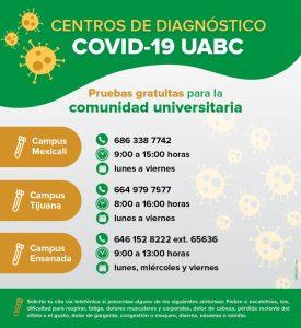 Atención estudiantes, docentes y personal administrativo y de servicios de la UABC.