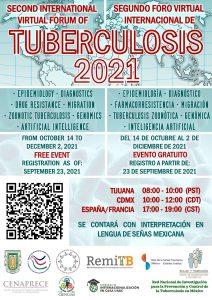 Segundo Foro Virtual Internacional de Tuberculosis 2021.