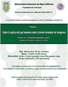 Seminario: Sobre la óptica del ojo humano como sistema formador de imágenes